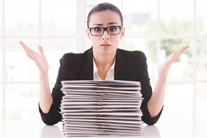 Here's how poor information management impacts productivity and creates stress.